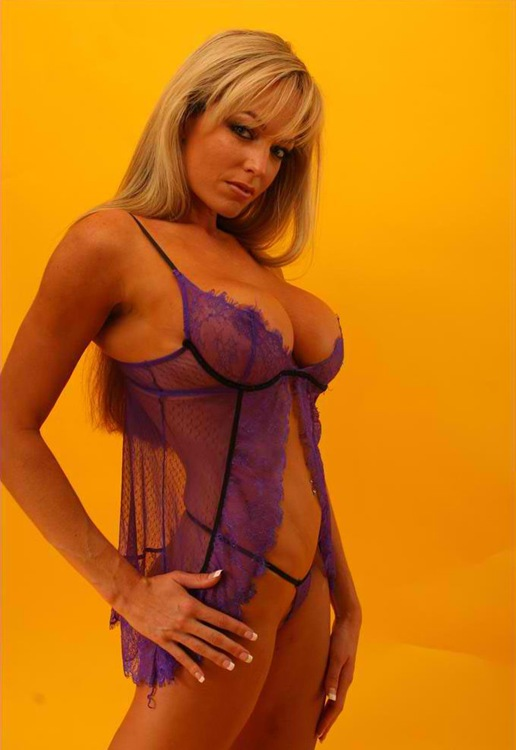 milfmia in her super sexy purple lingerie